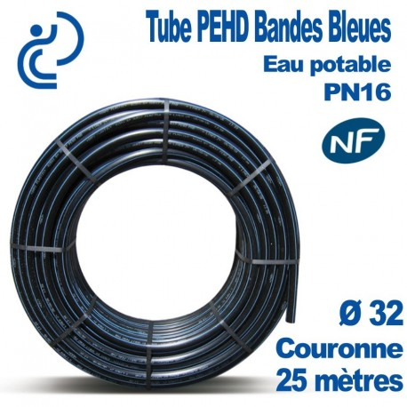 TUBE PEHD BB NF couronnes 25ml d32
