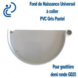 FOND DE NAISSANCE PVC Universel gris pastel
