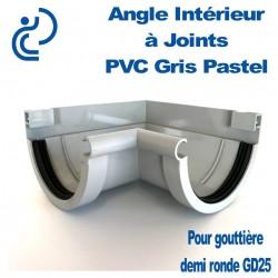 ANGLE A JOINTS EN PVC Gris pastel