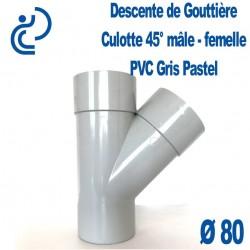 CULOTTE GOUTTIERE PVC Gris pastel