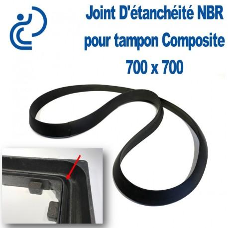 Joint D'Etanchéité en NBR pour tampon composite 700 x 700