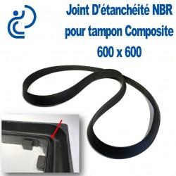 Joint D'Etanchéité en NBR pour tampon composite 600 x 600