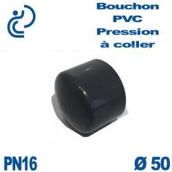 Bouchon Femelle PVC Pression D50 PN16 à coller