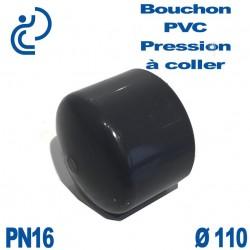 Bouchon Femelle PVC Pression D110 PN16 à coller
