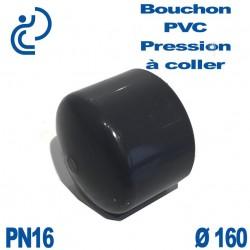 Bouchon Femelle PVC Pression D160 PN16 à coller