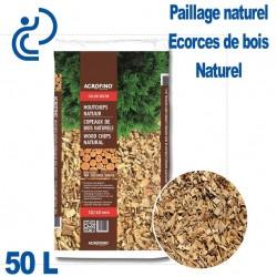 Écorces de paillage Bois Ton Naturel sac de 50 litres