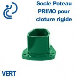 Socle Poteau Primo pour Clôture Rigide Vert