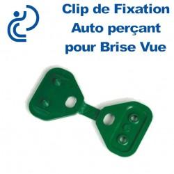 Clip de Fixation Auto Perçant PVC pour Brise Vue