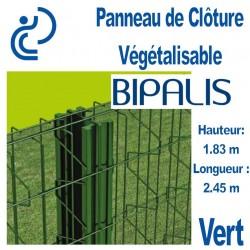 Panneau de Clôture Végétalisable BIPALIS Hauteur 1.83m