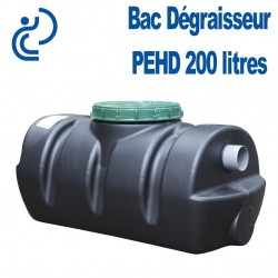 Bac Dégraisseur PEHD 200 litres