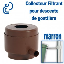 COLLECTEUR FILTRANT ECO Marron