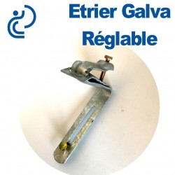 ETRIER GALVA REGLABLE D80/100