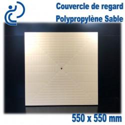 COUVERCLE DE SOL PP Sable 55x55