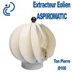 EXTRACTEUR EOLIEN ASPIROMATIC 100 Ton Pierre
