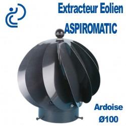 EXTRACTEUR EOLIEN ASPIROMATIC 100 Gris Ardoise