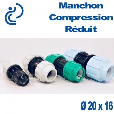 Manchon Réduit à Compression D20 x 16