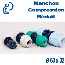Manchon Réduit à Compression D63 x 32