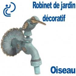 ROBINET DE JARDIN DECORATIF OISEAU