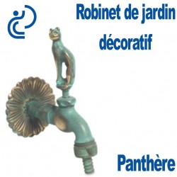 ROBINET DE JARDIN DECO PANTHERE