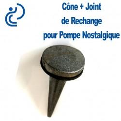 CONE + JOINT DE RECHAGE POUR POMPE A MAIN