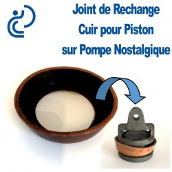 JOINT DE RECHANGE DE PISTON POUR POMPE A MAIN
