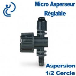 MICRO ASPERSEUR REGLABLE JET 1/2 CERCLE