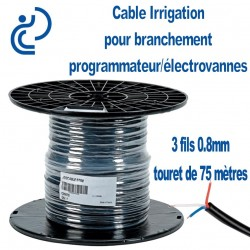 CABLE IRRIGATION 3 FILS 0.8 tourets de 75ml