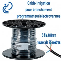 CABLE IRRIGATION 5 FILS 0.8 tourets de 75ml