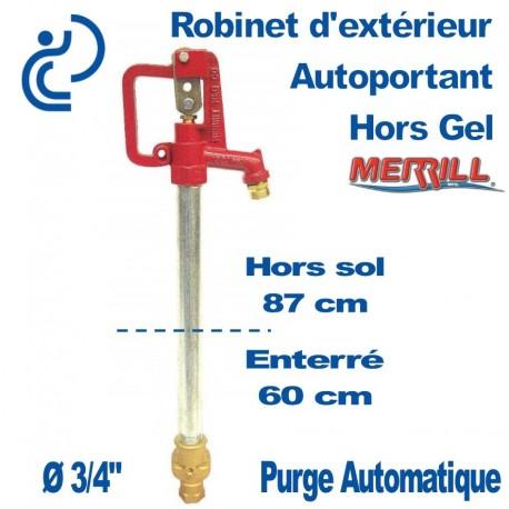 Robinet Merrill hors gel C1000 pour profondeur 60