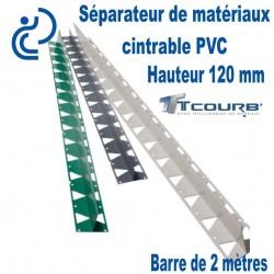 T COURB profil T Ht120 Longueur 2 mètres