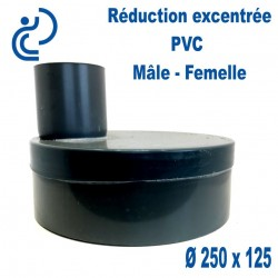REDUCTION EXCENTREE PVC 250X125 MF