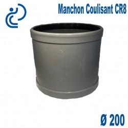 Manchon coulissant pvc CR8 D200 FF