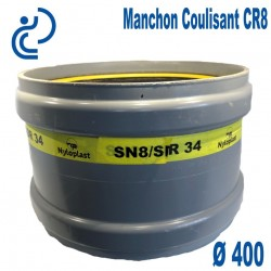 Manchon coulissant pvc CR8 D400 FF