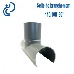 Selle de Branchement 110x100 à 90° PVC à coller