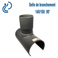 Selle de Branchement 140x100 à 90° PVC à coller