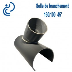 Selle de Branchement 160x100 à 45° PVC à coller