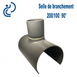 Selle de Branchement 200x100 à 90° PVC à coller