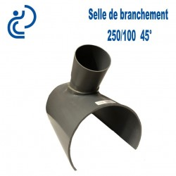 Selle de Branchement 250x100 à 45° PVC à coller