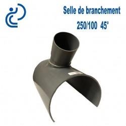 Selle de Branchement 250x100 à 45° PVC à coller