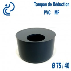 TAMPON DE REDUCTION PVC 75X40 MF