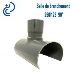 Selle de Branchement 250x125 à 90° PVC à coller