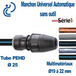 Manchon Automatique Universel SERIE1 D25 x 19-22