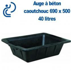 Auge à Béton en Caoutchouc 40 litres