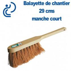Balayette COCO naturel 29 cms à manche court