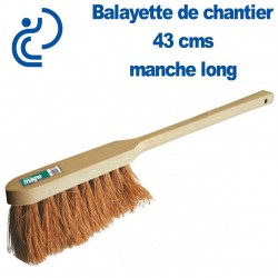 Balayette COCO naturel 43 cms à manche long