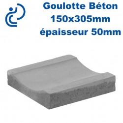 Goulotte Béton 150x305 mm épaisseur 50mm