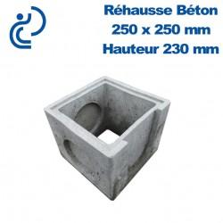 Rehausse Béton 25x25 (intérieur) hauteur 25