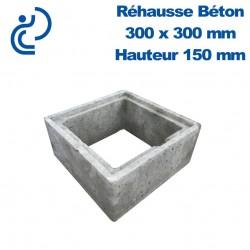 Rehausse Béton 30x30 (intérieur) hauteur 15