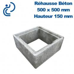 Rehausse Béton 50x50 (intérieur) hauteur 15