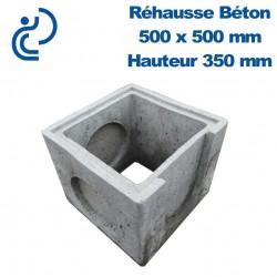 Rehausse Béton 50x50 (intérieur) hauteur 35